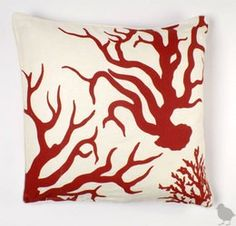 Red Coral. For my Guest Bedroom. Almost reminds me of octopus tentacles : )
