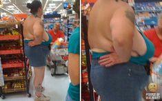 white trash at walmart | Funny Pictures at WalMart Sneak Peek
