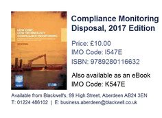 Marpol consolidated edition 2017 ie520e isbn 9789280116571 compliance monitoring disposal 2017 edition i547e isbn 9789280116632 fandeluxe