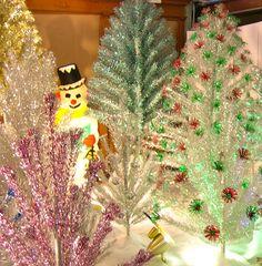 Aluminum Christmas tree forest