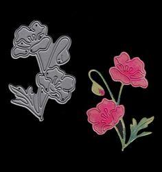 Signature Dies - Garden Poppy SD477
