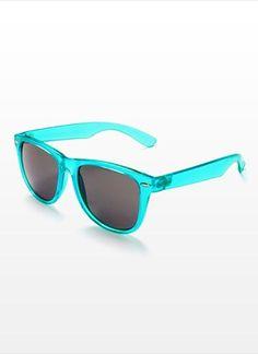 Transparent Wayfarers Sunglasses - Garage