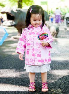 Sweet by Cheeky Banana Little Girl Tulip ruffle collar tunic set Lavender