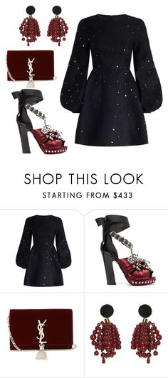 """""""Untitled #1868"""" by styledbytjohnson on Polyvore featuring Zimmermann, N°21, Yves Saint Laurent and Marni"""