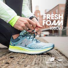 Nieograniczona amortyzacja. Nieograniczony potencjał. Sprawdź co jesteś w stanie zrobić z nowym #FreshFoam 1080v7.