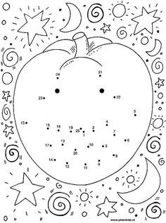 halloween activity sheet that is free and printable it is also a coloring page because after you have joined the dots you can color it in - Printable Halloween Activity Pages