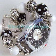 Connie Black Watch Band - Which Watch Designs