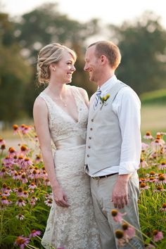 Real Bride Erin in Jim Hjelm style 8011    http://www.jlmcouture.com/Jim-Hjelm/Bridal/Additional/Style-8011