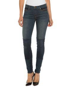 HUDSON Jeans Newton Copenhagen Patchwork Skinny Leg