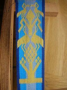 The Arlon Band tablet woven by Bettina Eichhorn