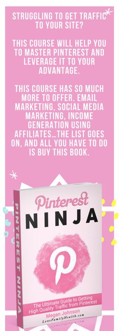 Even as the Pinterest Ninja e-Course is designed to help bloggers use Pinterest to their advantage, this course has so much more to offer. Email marketing, social media marketing, income generation using affiliates…the list goes on, and all you have to do is buy the e-book.