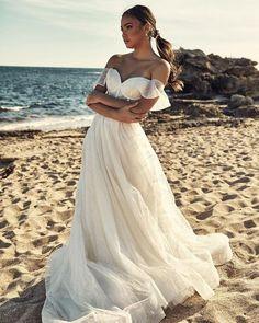 18 Absolutely Gorgeous Destination Wedding Dresses ❤ destination wedding dresses simple sweetheart neckline cizzy_bridal #weddingforward #wedding #bride #weddingoutfit #bridaloutfit #weddinggown
