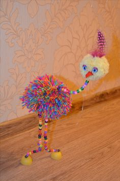 Tutorial here: http://www.doodlecraftblog.com/2013/04/easy-silly-bird-marionette-diy-tutorial.html?m=1