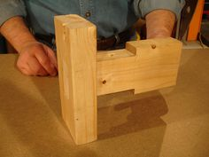 How to make a Wedged Tenon Joint