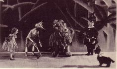 Seattle Cornish Puppeteers 1930's Wizard of Oz Pproduction.