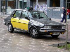 Renault 12 Taxi Barcelona