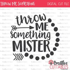 Throw Me Something Mister Mardi Gras SVG by CreativeCuttablesCo