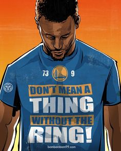 Stephen Curry 'Don't Mean a Thing' Illustration' Illustration