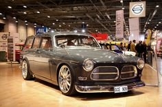 Custom 1967 Volvo Amazon Estate by Mattias Vocks, this is an amazing car, 600HP Volvo inline 6 cylinder, racing gearbox, roll cage, really cool.  Mattias is an engineer for Koenigseg supercars.