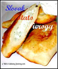 Slovak Potato Pierogi...one of my favorite dishes!!! The Irish in me love the potatoes & the Slovak half loves the pasta =)