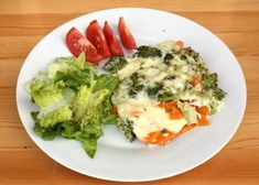 Prekvapivo veľmi chutný a zdravý obed vhodný aj pri delenej strave. Ale, Food And Drink, Low Carb, Vegetarian, Healthy Recipes, Vegan, Chicken, Cooking, Fitness