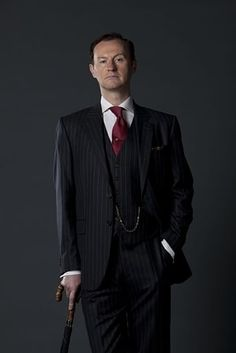 You are Mycroft Holmes.