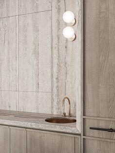 Apartment Interior Design, Bathroom Interior Design, Kitchen Interior, Interior Decorating, Kitchen Decor, Joinery Details, Küchen Design, Design Ideas, House Design