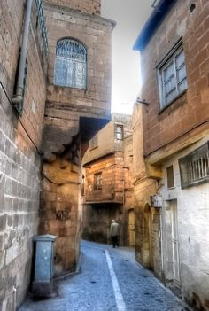 Back streets of Sanliurfa - southeast Turkey