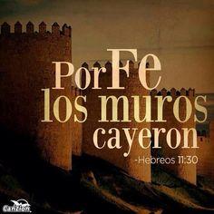 Dios derriba todos los muros sigue golpeandoooooo los muros --caeran!.......  InUrFamily♥