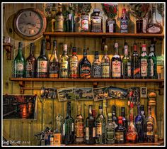 "Drinks Cabinet. ""The Hermitage"" by thegrinch (back home), via Flickr"