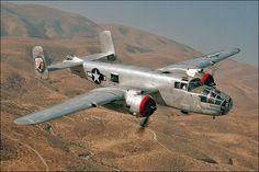 North American B-25J in flight. | Flickr - Photo Sharing!