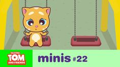 Talking Tom and Friends Minis - Lonely Boy Ginger (Episode xo, Talking Angela Tom S, Feeling Lonely, Having A Bad Day, Animation Series, Pretty Cool, More Fun, Cool Kids, Minis, Things That Bounce