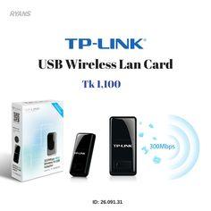 TP-Link TL-WN823N 300Mbps USB Wireless Lan Card #ryans #tplink #lancard