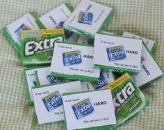 """I like the use of """"Extra."""" Might switch to say thanks for all of your extra work... Coworkers, teachers, parents."""