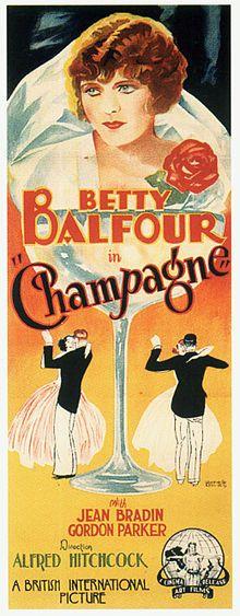 Champagne (1928) ... *silent movie*  *Alfred Hitchcock Legend Begins*