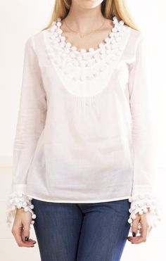 TORY BURCH BLOUSE @Michelle Flynn Coleman-HERS