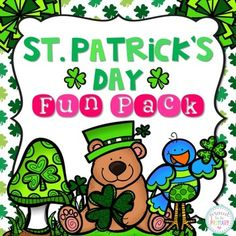 St. Patrick's Day Activities and Printables: This 86 page St. Patrick's Day thematic unit has everything you will need to celebrate and learn in your classroom while doing fun, educational Language Arts, Math and Crafts activities!PLEASE SEE PREVIEW TO SEE WHAT IS OFFERED!!These activities can be used in Kindergarten to Grade 2.*****************************************************************************This St.