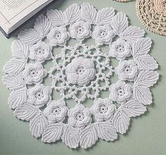 "Pattern featured in the book ""Irish Lace Doilies"" published by Annie's attic. Designed by Ferosa Harold"