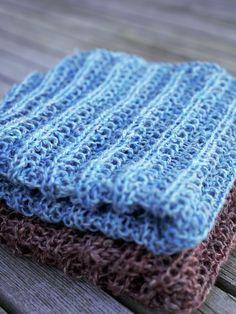 Strikkede hørkarklude opskrift Knit Patterns, Sting, Divas, Ravelry, Knitting, Blog, Crafts, Craft Ideas, Threading
