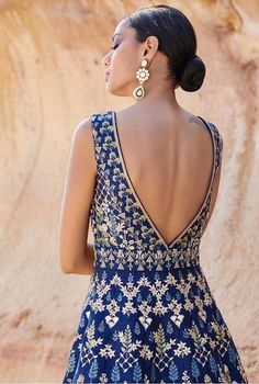 15 Anita Dongre Lehengas For Spring Summer 2019 Indian Gowns Dresses, Indian Outfits, Bridal Dresses, Brocade Dresses, Indian Attire, Mehendi, Afro, Indian Designer Suits, Indian Designers