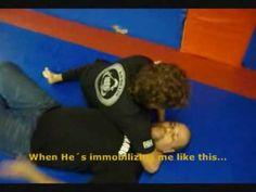 defesa de gravata no chao / Kombato headlock release (flloor)