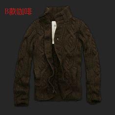 Cheap 2014 para hombre otoño e invierno suéter hombre flor gruesa chaqueta de punto de punto de alta calidad de la marca de la rebeca, Compro Calidad Chaquetas directamente de los surtidores de China: