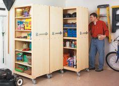 Garage Organizers | Woodsmith Plans