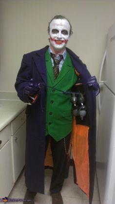 Joker  - Halloween Costume Contest via @costumeworks