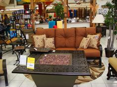 Yard Art Patio & Fireplace: Lewisville • patio furniture • dining sets • rugs •accessories • umbrellas • fire pits
