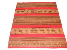 Inca andes Tapestry precolumbian design  $65.00  #andes #indian @Aspenandes Handcrafts