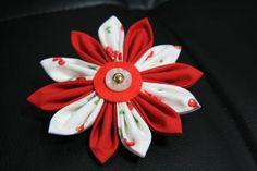 Diy Kanzashi Flower