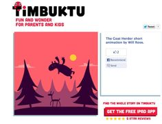 Goats features in Timbuktu The first iPad magazine for parents and children http://api.timbuktu.me/web/content/1000214
