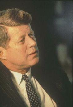 President John F. Kennedy. 1963 ❤❤❤✩✽❀✿❃✽✩❤❤❤ http://en.wikipedia.org/wiki/John_F._Kennedy