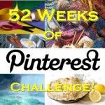 Sure, you pin stuff all the time, but are you brave enough to actually make or do any of it?! Join me and Dutch Being Me for 52 weeks of Pinterest. Every Saturday, link up your blog and show off the Pinterest inspired project you've done. For once, lets put our boards to work!